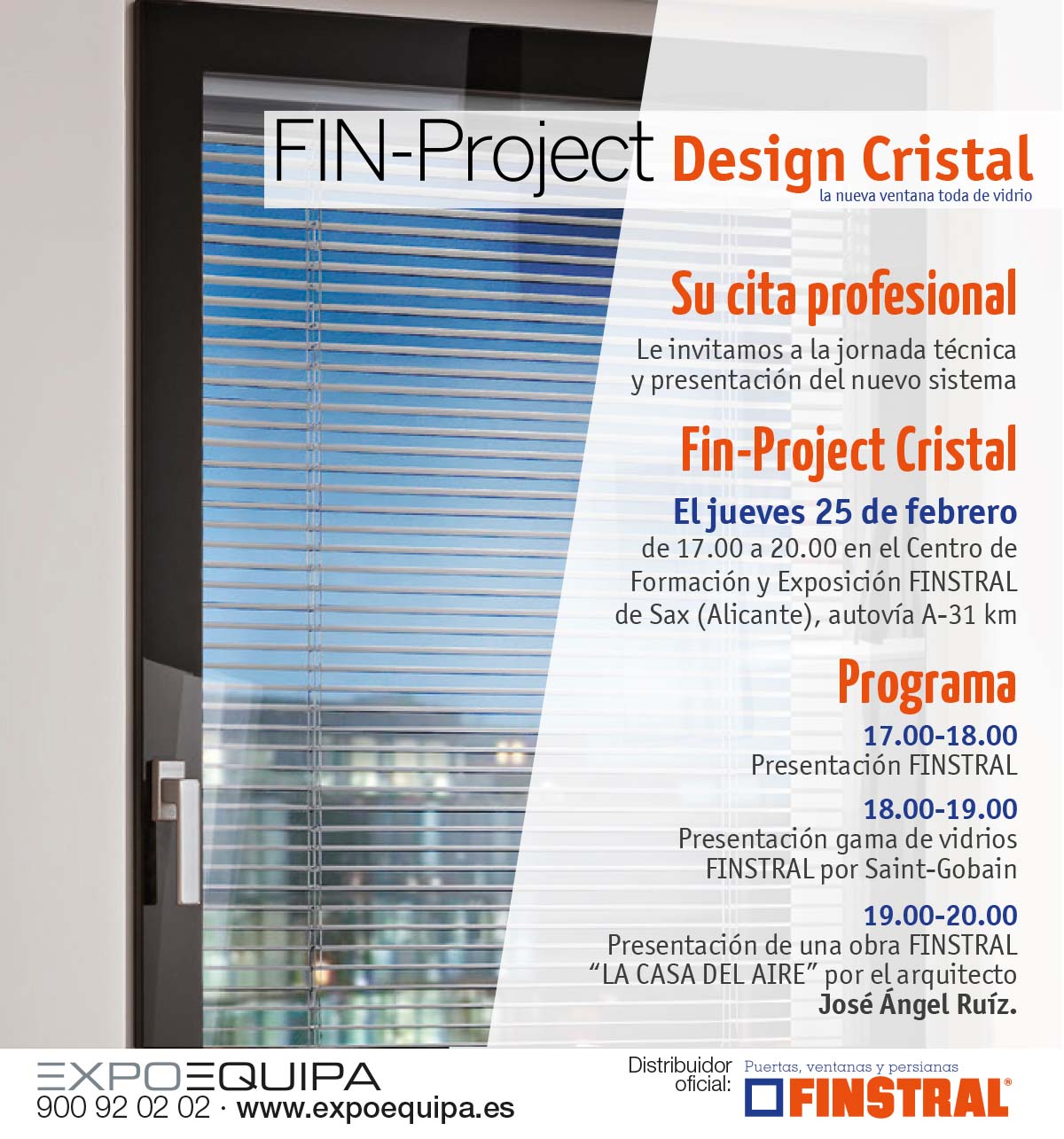 Cartel FIN-Project Design Cristal